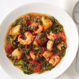 Shrimp and Chorizo Stew
