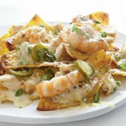 Shrimp-and-Crab Nachos