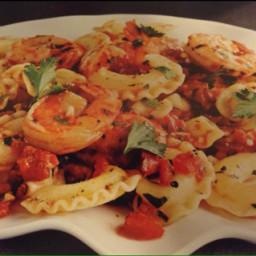 Shrimp and Garlic Tomato Pasta