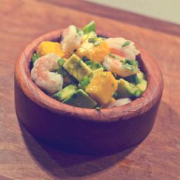 Shrimp and mango salad recipe