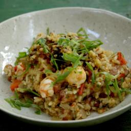 Shrimp and Oyster Perlou