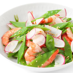 Shrimp and Snow Pea Salad