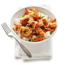 Shrimp and Spicy Mango Sauté