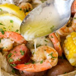 Shrimp Boil Foil Packet