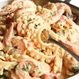 Shrimp Boil Pasta