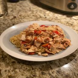 Shrimp/Chicken Scampi