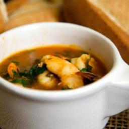 Shrimp Diablo Soup