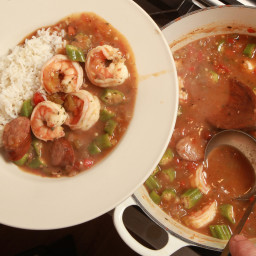 Shrimp Gumbo with Andouille Sausage