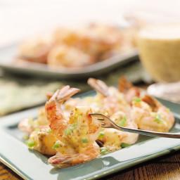 Shrimp In Mustard-Horseradish Sauce