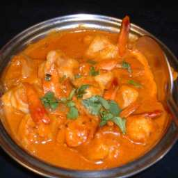 Shrimp Jalfrezi Curry