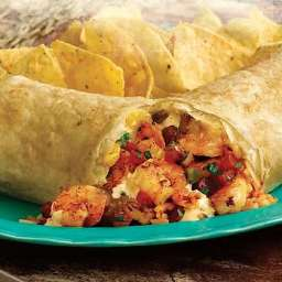 Shrimp or Fish Burritos (Tacos) Mexican, seafood
