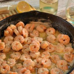Shrimp Scampi & Wine