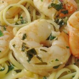 Shrimp Scampi with Pasta Recipe