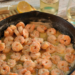 Shrimp Scampi with White Wine Butter Sauce