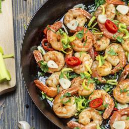 Shrimp Stir Fry with