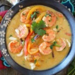 Shrimp Thai Green Curry