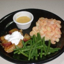 Shrimp with Honey Mustard