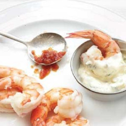 Shrimp with Tarragon Aioli