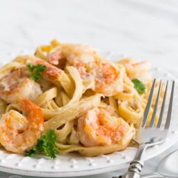 Shrimp Alfredo Pasta Recipe