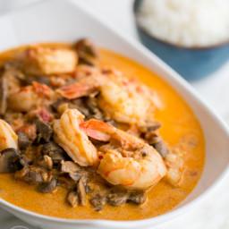Shrimp and Mushroom Sauce Recipe
