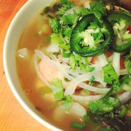Shrimp Pho - Vietnamese Noodle Soup