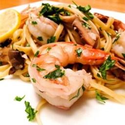 Shrimp Scampi with Pasta
