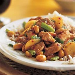 Sichuan-Style Stir Fried Chicken with Peanuts