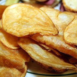 Side Dish - Homemade Potato Chips