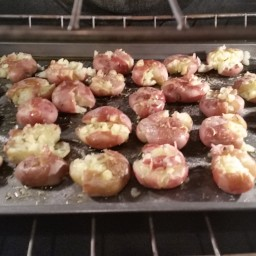 Side Dish - Smashed New Potatoes
