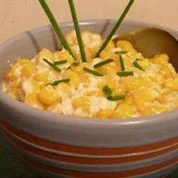 Side Dish - Creamed Corn in a Crockpot