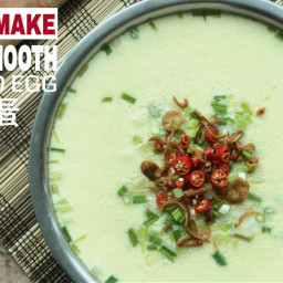 Silken Smooth Chinese Steamed Egg Custard with Minced Meat (Zheng Sui Tan 蒸