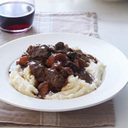 Silky Beef and Porcini Mushroom Stew