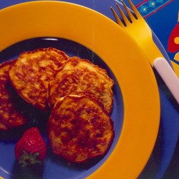 Silver Dollar Corn Pancakes