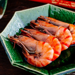 Simmered Shrimp