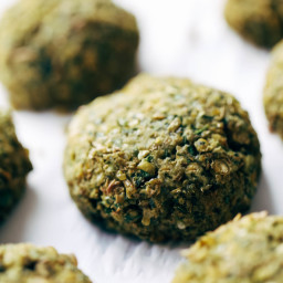Simple 5 Ingredient Baked Falafel