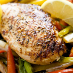 Simple & Easy Lemon Basil Grilled Chicken