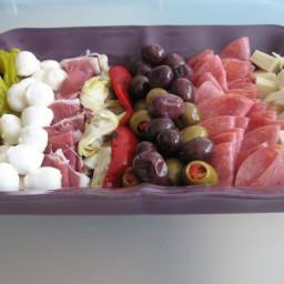 Simple Antipasto Platter