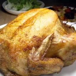 Simple Aromatic Roast Chicken
