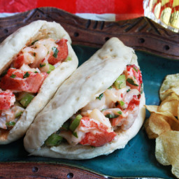 Simple Asian Lobster Rolls