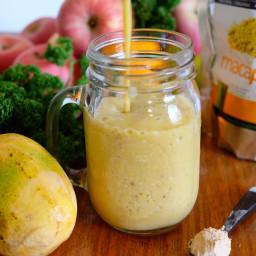 Simple Banana Mango Smoothie Recipe