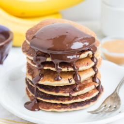 Simple Banana Pancakes (gluten-free)