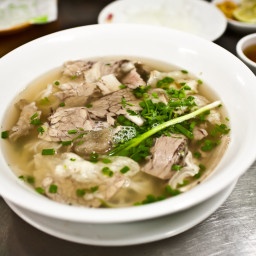 Simple BBQ Pork Pho Recipe With Star Anise