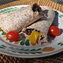 Simple Black Bean Burrito