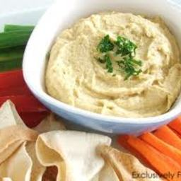 Simple Blender Hummus