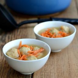 Simple Dumpling Soup