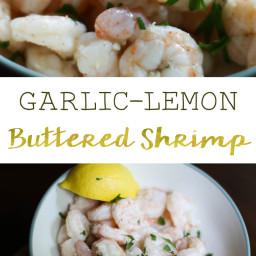 Simple Garlic-Lemon Buttered Shrimp