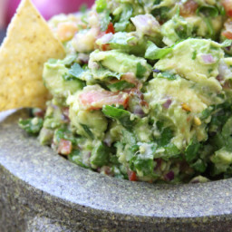 Simple Healthy Guacamole