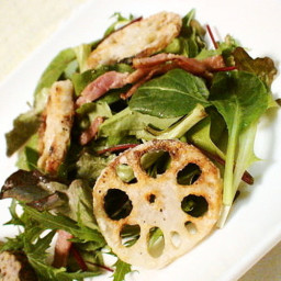 Simple Lotus Root Salad