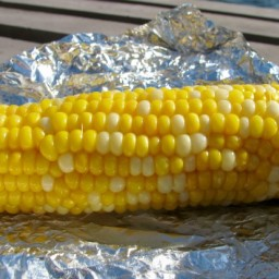 Simple Oven-Roasted Corn on the Cob