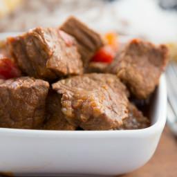 Simple Puerto Rican Carne Guisada Instant Pot